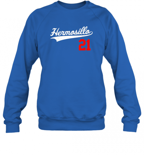 ayvc hermosillo shirt in baseball style for mexican fans sweatshirt 35 front royal