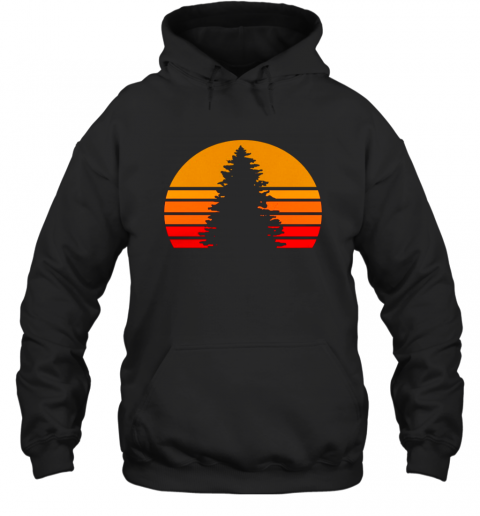 Sunset Rock Shirt Hoodie