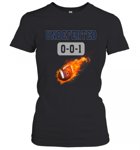 NFL DALLAS COWBOYS LOGO Undefeated Women's T-Shirt