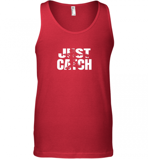 8rzp just catch baseball catchers gear shirt baseballin gift unisex tank 17 front red