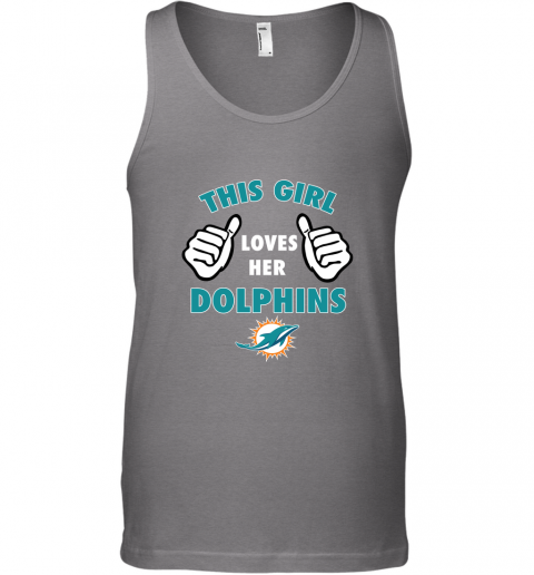 zyzw this girl loves her miami dolphins unisex tank 17 front graphite heather
