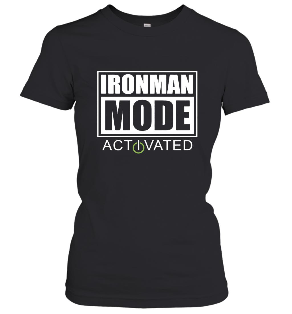 Triathlon Ironman Mode Activated Women's T-Shirt