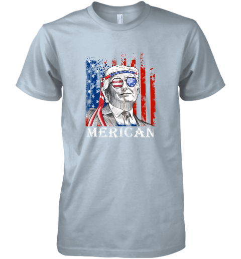 eko2 merica donald trump 4th of july american flag shirts premium guys tee 5 front light blue