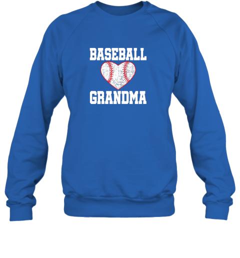 sya6 vintage baseball grandma funny gift sweatshirt 35 front royal