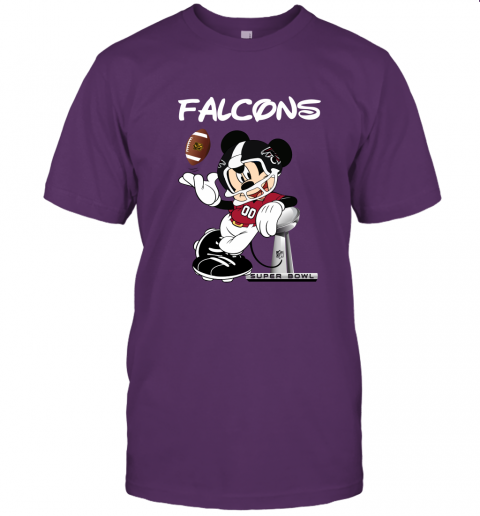 wzwj mickey falcons taking the super bowl trophy football jersey t shirt 60 front team purple