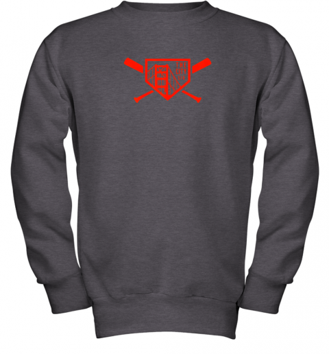 wsxy cool san francisco baseball the city bridge sfo youth sweatshirt 47 front dark heather
