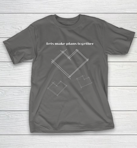 Valentine Architect T Shirt Heart Architecture Student T-Shirt 8