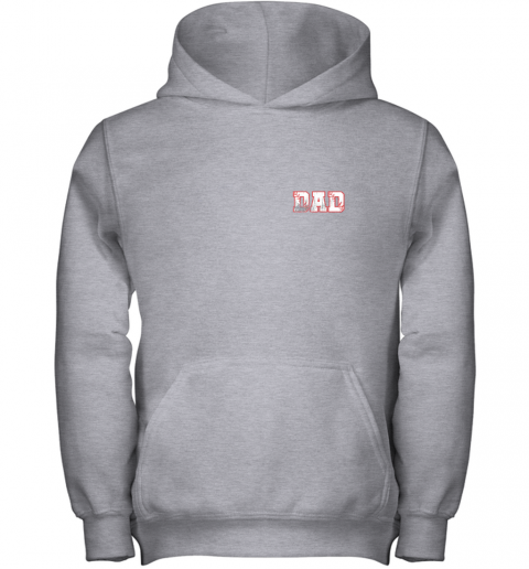 tydm mens baseball inspired dad fathers day distressed youth hoodie 43 front sport grey
