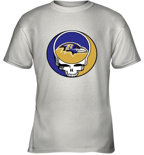 NFL Team Baltimore Ravens x Grateful Dead Youth T-Shirt