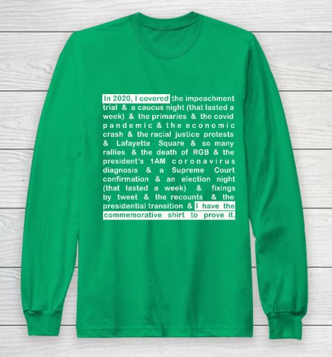 Jim Acosta Long Sleeve T-Shirt 4