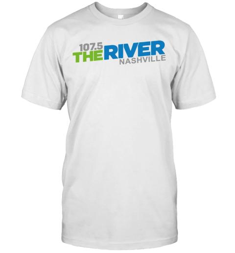 107 5 The River Nashville shirt T-Shirt