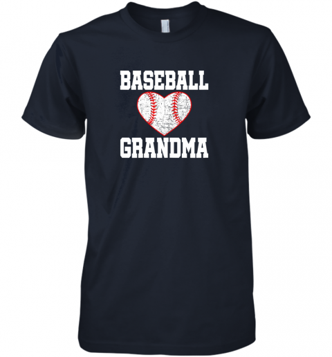 ryjq vintage baseball grandma funny gift premium guys tee 5 front midnight navy