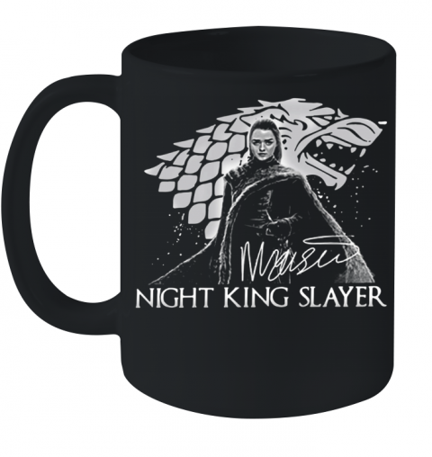 Arya Stark Night King Slayer Signature Ceramic Mug 11oz