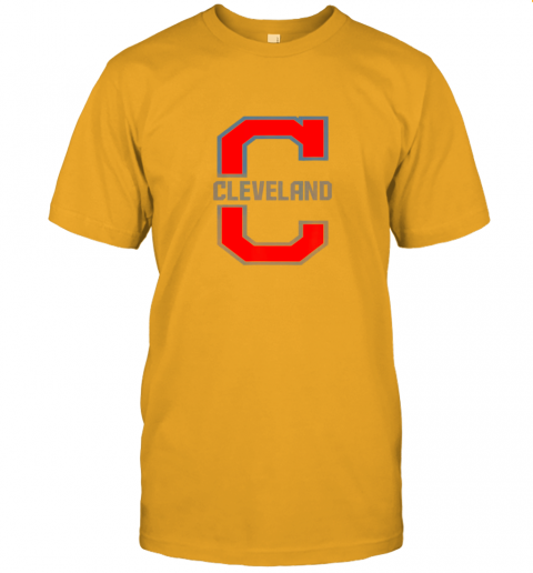 w5ik cleveland hometown indian tribe vintage jersey t shirt 60 front gold