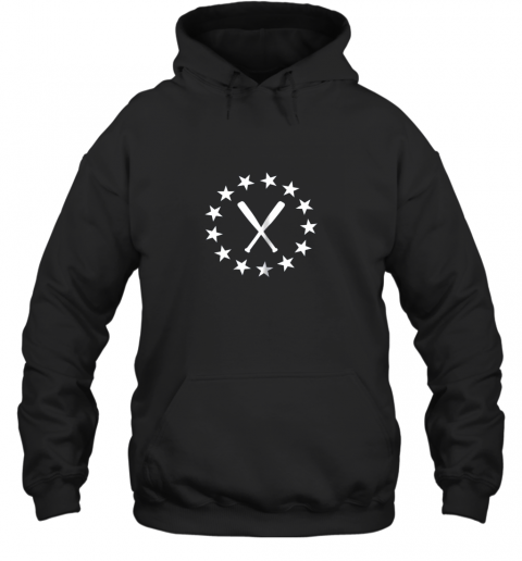 Baseball with Bats Shirt Baseballin Player Gear Gifts Hoodie