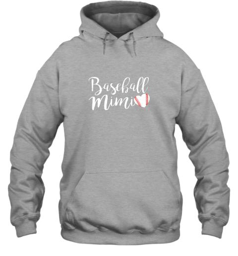 su3y funny baseball mimi shirt gift hoodie 23 front sport grey