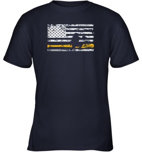 fdqx softball catcher shirts baseball catcher american flag youth t shirt 26 front navy