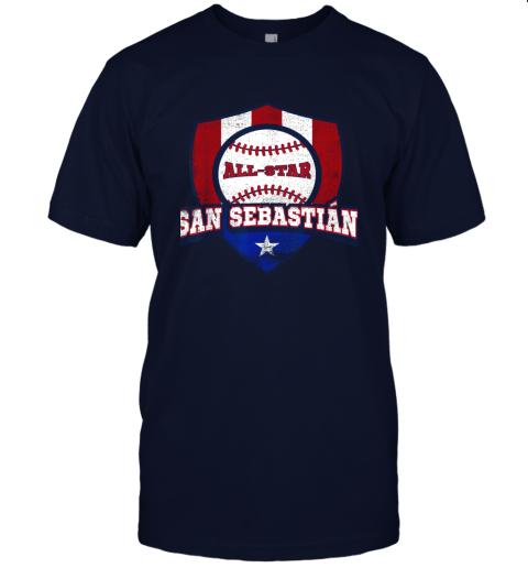 j91v san sebastian puerto rico puerto rican pr baseball jersey t shirt 60 front navy