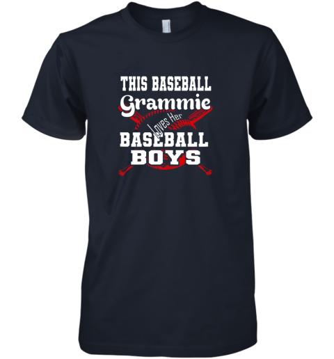 yoca this baseball grammie loves her baseball boys premium guys tee 5 front midnight navy