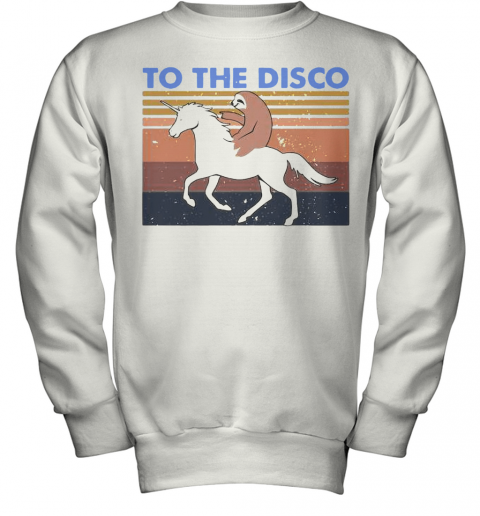 To The Disco Vintage Youth Sweatshirt