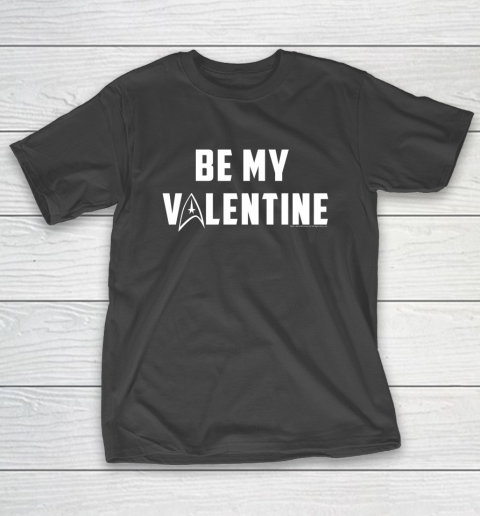 Star Trek Be My Valentine Delta Badge Graphic T-Shirt