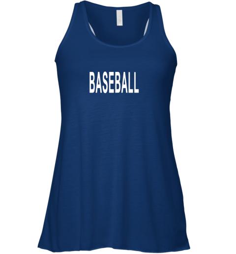 8tzi shirt that says baseball flowy tank 32 front true royal