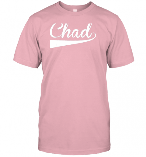ovom chad country name baseball softball styled jersey t shirt 60 front pink