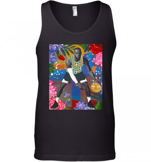 Lebron James Flowers Tank Top
