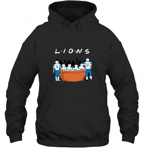 The Detroit Lions Together F.R.I.E.N.D.S NFL Hoodie