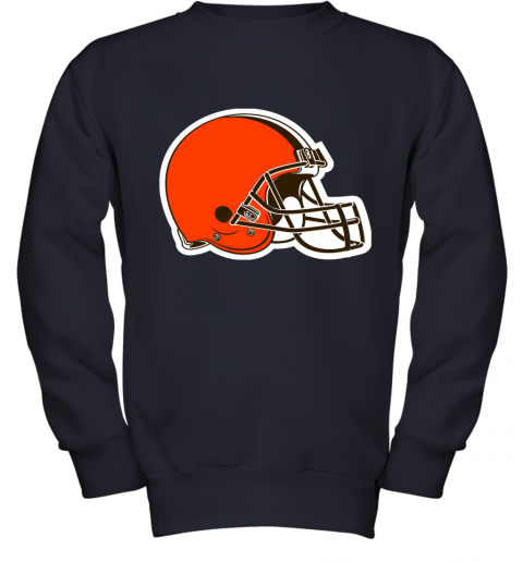 Cleveland Browns NFL Pro Line by Fanatics Branded Brown Victory Youth Sweatshirt