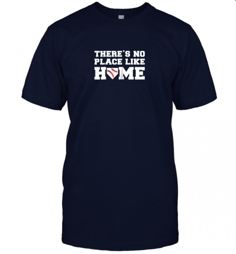 yrmz there39 s no place like home baseball shirt kids baseball tee jersey t shirt 60 front navy
