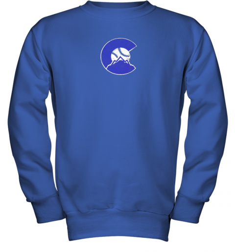 baqw colorado rocky mountain baseball sports team youth sweatshirt 47 front royal