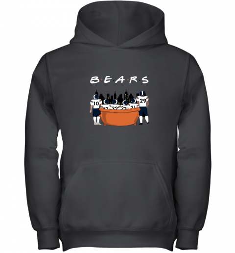 The Chicago Bears Together F.R.I.E.N.D.S NFL Youth Hoodie