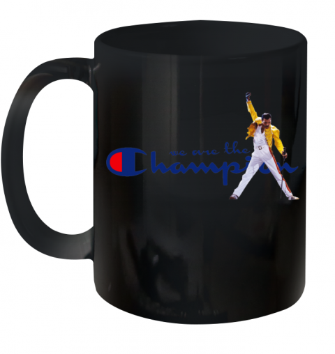We Are The Champions Queen Freddie Mercury Ceramic Mug 11oz