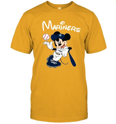 uuv9 baseball mickey team seattle mariners jersey t shirt 60 front gold