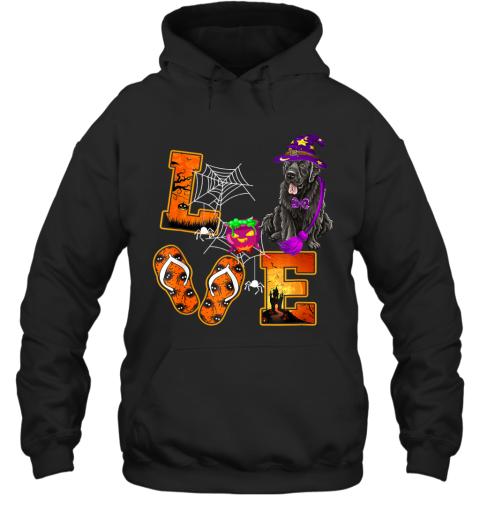 Newfoundland Love Halloween Boo Dog Gifts Hoodie