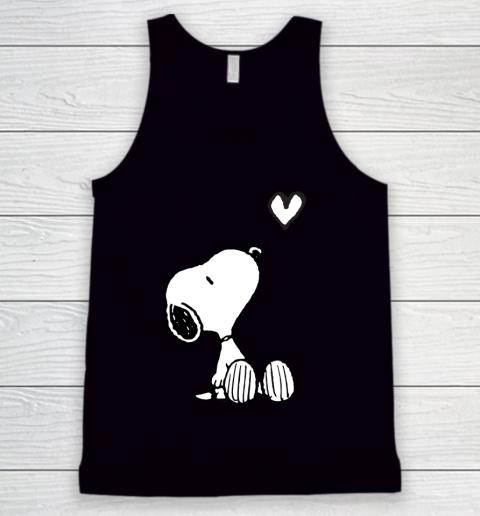 Peanuts Valentine Snoopy Heart Tank Top