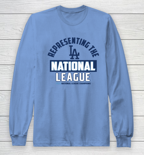 Representing the Los Angeles Dodgers National League 2020 Champions Long Sleeve T-Shirt 8