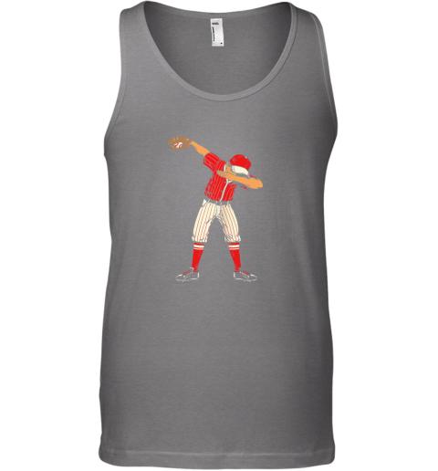 xim4 dabbing baseball catcher gift shirt men boys kids bzr unisex tank 17 front graphite heather
