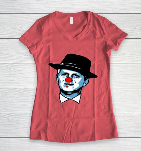 Barstool Rappaport Shirt Women's V-Neck T-Shirt 4
