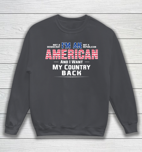 Veteran Shirt Patriot I Am An American Sweatshirt 4