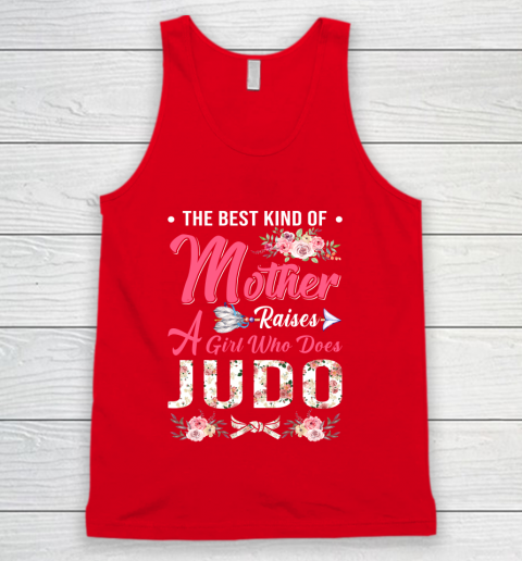 Judo the best kind of mother raises a girl Tank Top 5