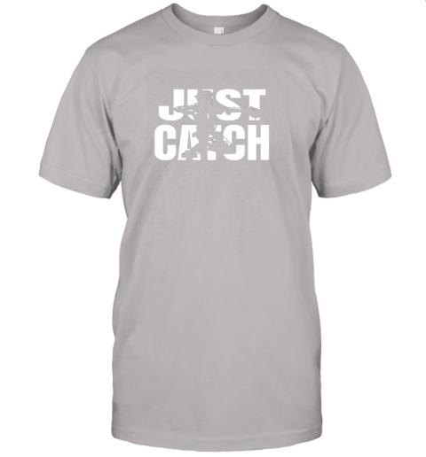 gimj just catch baseball catchers long sleeve shirt baseballisms jersey t shirt 60 front ash