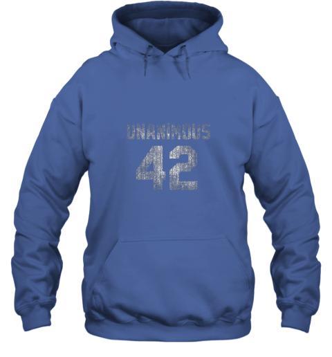 ins0 new york 42 baseball unanimous hof distressed mo hero hoodie 23 front royal