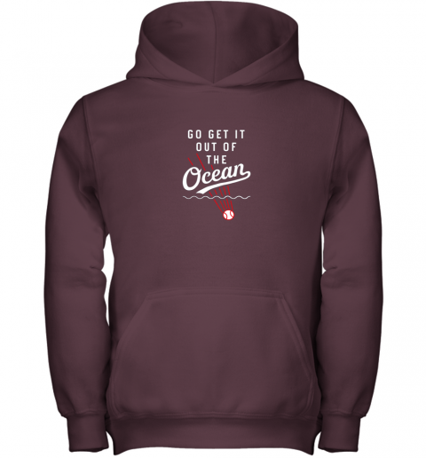 vmuh go get it out of the ocean baseball tee dodge youth hoodie 43 front maroon