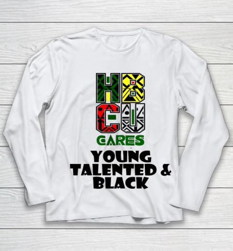 HBCU Cares College University Graduation Gift Black Schools Shirt Youth Long Sleeve