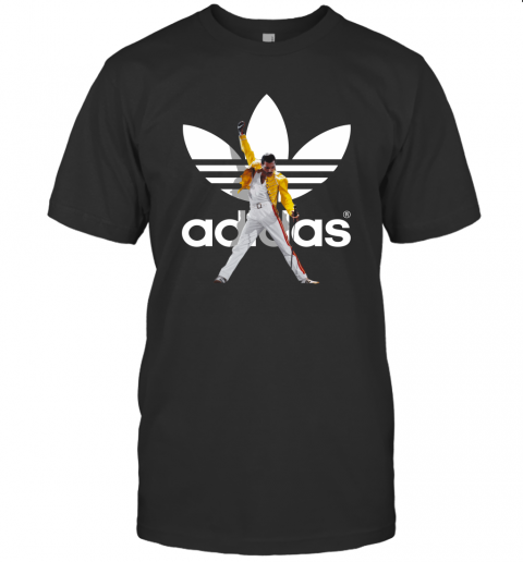 Freddie Mercury Vintage Retro Music Gift For Fans Adidas