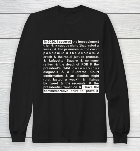 Jim Acosta Long Sleeve T-Shirt