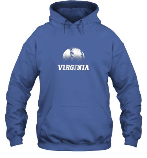 xp06 virginia baseball state pride team sport hoodie 23 front royal
