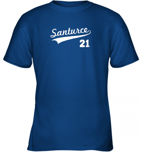 kwp2 vintage santurce 21 puerto rico baseball youth t shirt 26 front royal
